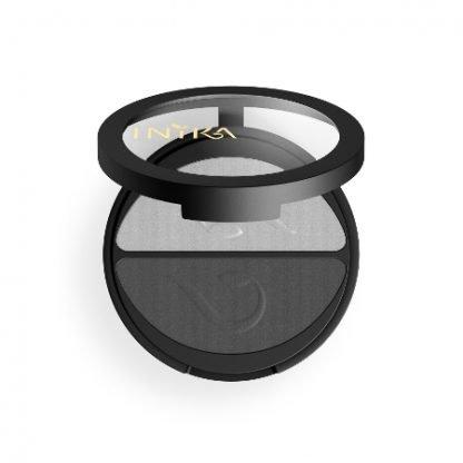 INIKA Organic Eyeshadow Duo Luomiväripaletti Platinum Steel 3,9g kuva 3