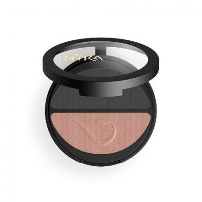 INIKA Organic Eyeshadow Duo Luomiväripaletti Black Sand 3,9g kuva 3