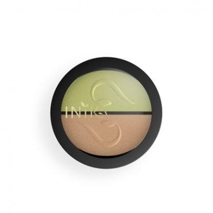 INIKA Organic Eyeshadow Duo Luomiväripaletti Khaki Desert 3,9g