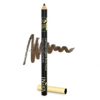 INIKA Organic Eye Brow Pencil Kulmakynä Dark Brunette 1,2g