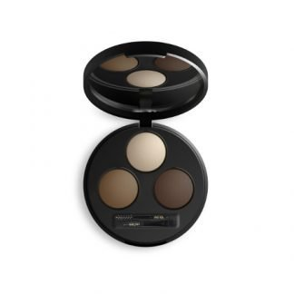 INIKA Organic Brow Define Palette Kulmien Muotoilu Paletti Chestnut 5g