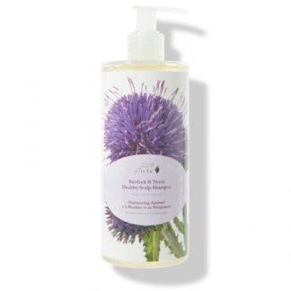 100% Pure Burdock & Neem Shampoo Hiuspohjan Hyvinvointiin 390ml