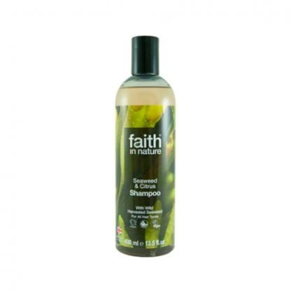 Faith in Nature Merilevä & Sitrus Shampoo 250ml