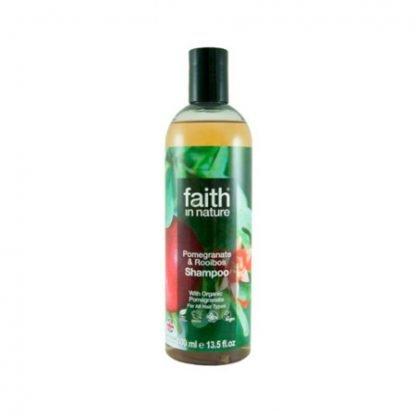708002500916_Faith in Nature Granaattiomena & Rooibos Shampoo 250ml