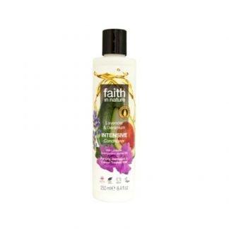 Faith In Nature Laventeli-Geranium Tehohoito 250ml
