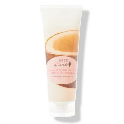 100%Pure Honey & Virgin Coconut Restorative Korjaava Shampoo 236ml