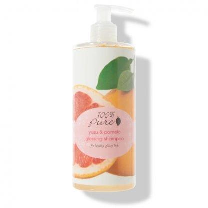 100% Pure Yuzo & Pomelo Glossing Kiilto Shampoo 390ml