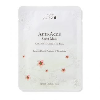 100%PURE Anti-Acne Kasvonaamio 25g