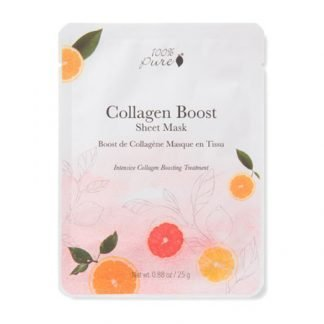 100%PURE Collagen Boost Kasvonaamio 25g
