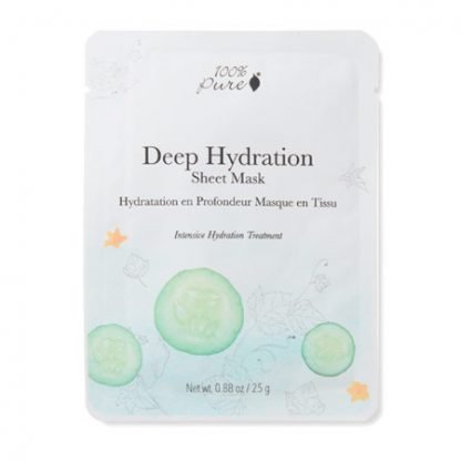 100%PURE Deep Hydration Kasvonaamio 25g