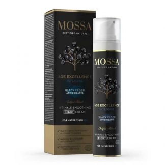 Mossa Age Excellence Intensive Wrinkle Smoothing Mustaselja Yövoide 50ml