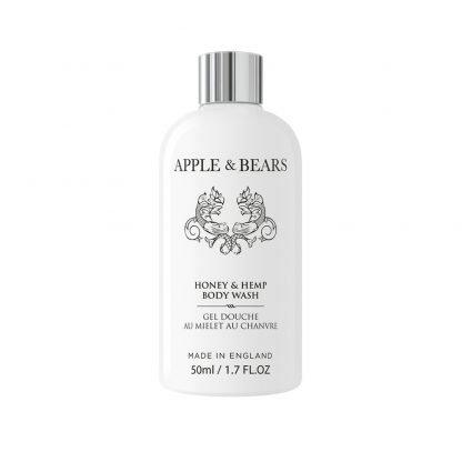 Apple & Bears Honey & Hemp Vartalonpesuaine Luxury Mini Matkakoko 50ml