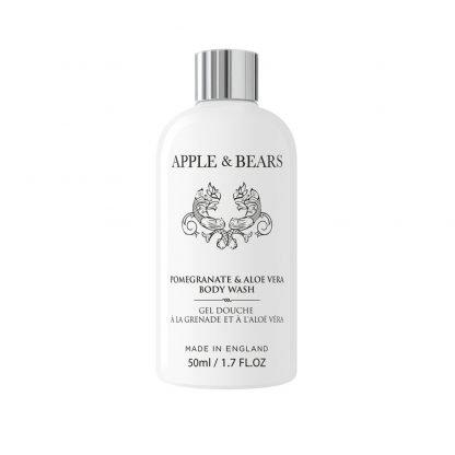 Apple & Bears Pomegranate & Aloe Vera Vartalonpesuaine Luxury Mini Matkakoko 50ml