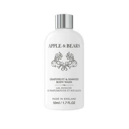 Apple & Bears Grapefruit & Seaweed Vartalonpesuaine Luxury Mini Matkakoko 50ml
