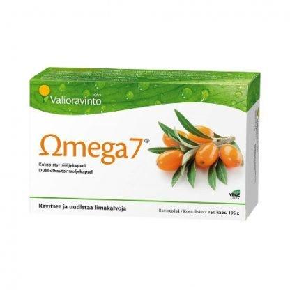 Omega7 Tyrniöljykapseli 150 Kaps (Iso Koko)