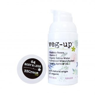 Veg-Up BB Cream Body & Legs BB-Voide Vartalolle & Jaloille 30ml 8052086650299