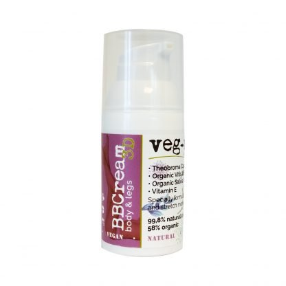 Veg-Up BB Cream Body & Legs BB-Voide Vartalolle & Jaloille 30ml 8052086650299 kuva 3