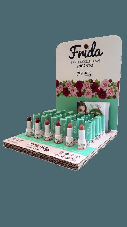 Veg-Up Frida Lipstick Semi-Matte Huulipuna 3,5g