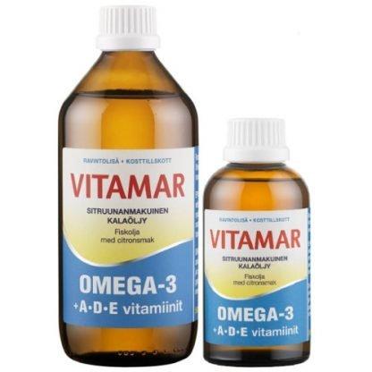 Vitamar Omega-3 + ADE kalaöljy