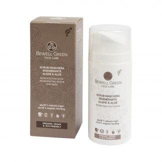 BeWell Green Regenerating Scrub and Mask Kuoriva Kasvonaamio 100ml 8052086650640