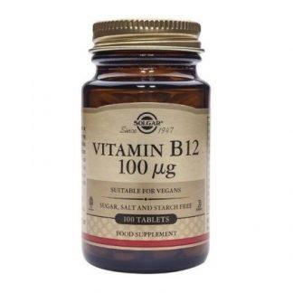 Solgar Vitamin B12 100 µg 100tbl