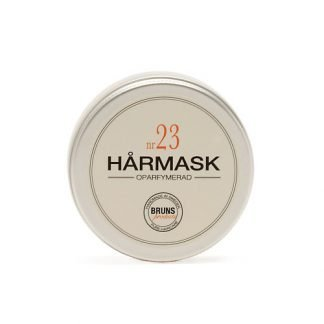 BRUNS Products Nr23 Hårmask Hajusteeton Hiusnaamio 50ml 7350088610312