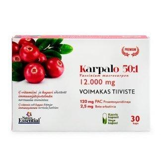 Aboa Medica Premium Vahva Karpalo 30kaps 8435041325294