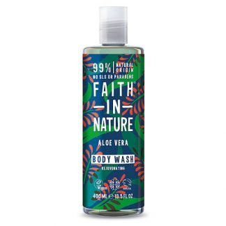 Faith In Nature Aloe Vera Suihkugeeli 400ml