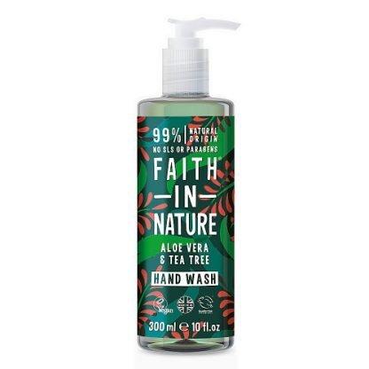 Faith In Nature AloeVera & TeaTree Käsisaippua 300ml 0708002300790