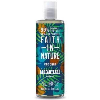 Faith In Nature Coconut Kookos Suihkugeeli 400ml