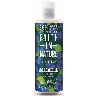 Faith in Nature Blueberry Mustikka Hoitoaine 400ml