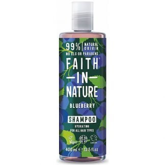 Faith in Nature Blueberry Mustikka Shampoo 400ml