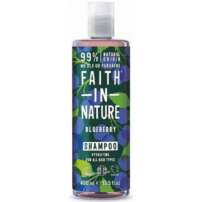 Faith in Nature Blueberry Mustikka Shampoo 400ml