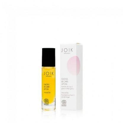 Joik Organic Gloss & Care LipOil Huuliöljy 10ml 4742578002197