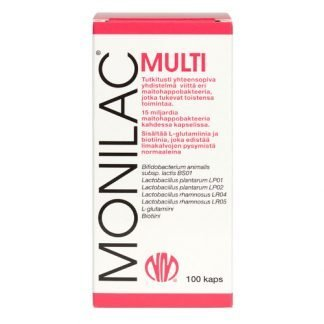 Natura Media Monilac Multi 100kaps 6417778160807