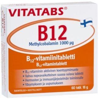 Vitatabs B12 Methylcobalamin 60tabl 6428300006241