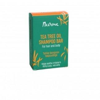 NURME Tea Tree ShampooBar Teepuuöljy Shampoopala 100g 4742763007365