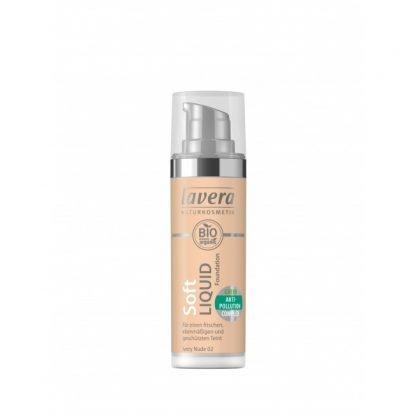Lavera Soft Liquid Meikkivoide IvoryNude 02 30ml 4021457627547