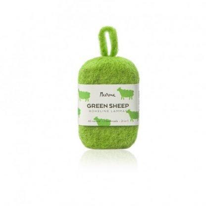 NURME Green Sheep Vihreä Huopasaippua 80g 4742763003176