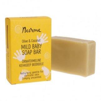 NURME Mild Baby Soap Mieto Vauvasaippua 100g 4742763009635