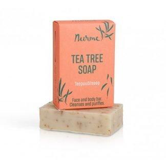 NURME Tea Tree Oil Teepuuöljy Saippua 100g 4742763002056