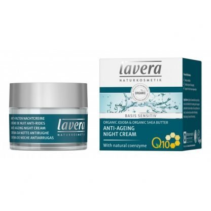 Lavera Basis Sensitiv Anti-Ageing Yövoide 50ml