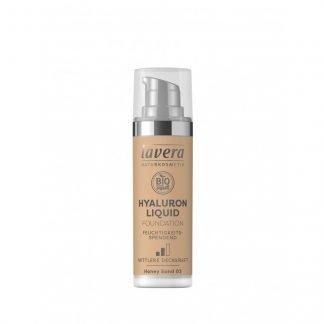 Lavera Hyaluron Meikkivoide Honey Sand 03 30ml 4021457632091