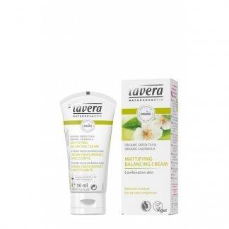 Lavera Mattfying Balansing Cream Kosteusvoide 50ml 4021457617241