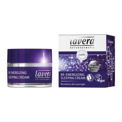Lavera Re-Energizing Sleeping Cream Yövoide 50ml 4021457618873