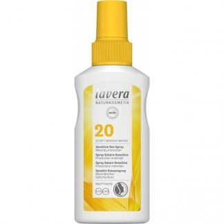 Lavera Sensitive SunSpray Aurinkosuoja Suihke SPF20 100ml 4021457635320
