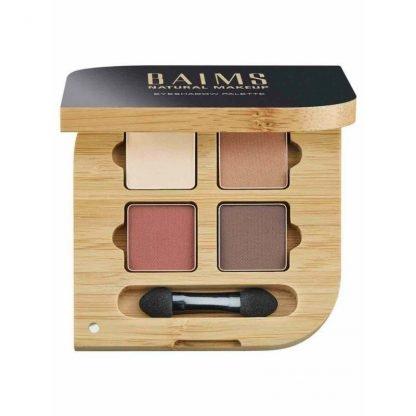 BAIMS Eyeshadow Quad Palette Luomiväri Paletti 01 Naturelle 5,6g 618119349240