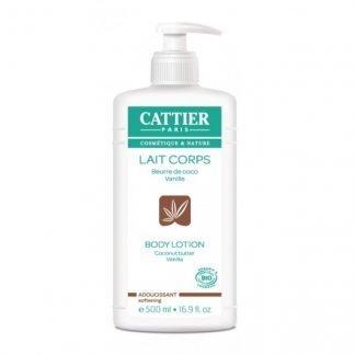 Cattier Coconut Butter Vanilla Vartalovoide 500ml 3283950911160