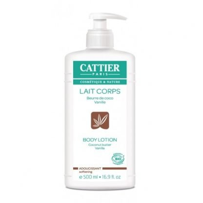 Cattier Coconut Butter Vanilla Vartalovoide 500ml 3283950911160