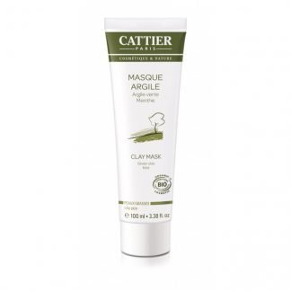 Cattier Green Clay Savinaamio Rasvoittuvalle Iholle 100ml 3283950910903